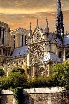 Notre Dame Paris, France- I've been to Notre Dame twice now and it is still an unbelievable site! Get there early and go up into the bell towers, probably the best view of Paris (right in the heart of the historic city).