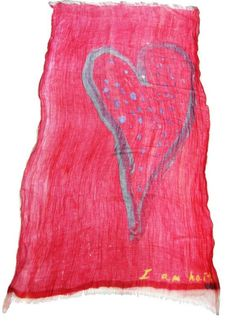 All You Need Is Love Scarf... 100% of the net proceeds will go towards building a sustainable community and secure future for the children of Maranatha School and Orphanage in Haiti