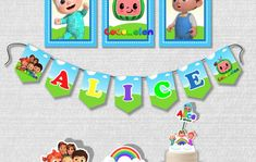 Kit Festa Cocomelon no Elo7 | PAINEL ÂNGELA ÁLVARES (1331249) Paw Patrol Birthday Card, Birthday Cards, Frame, Paw Patrol Birthday, House Party, Party Kit, Ideas, Fiestas, Bday Cards