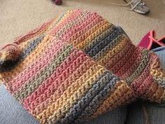 How to Crochet a Scarf Using Single Crochet