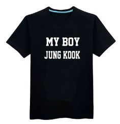 "BTS Bangtan Boys ""MY BOY"" T Shirt"