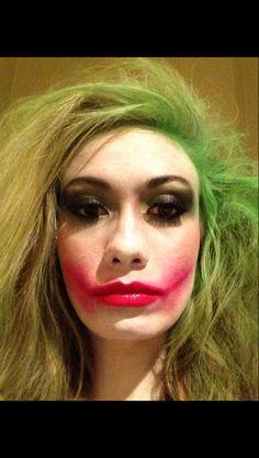 DIY Joker makeup #Halloween