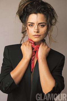 Jenna Coleman • Glamour UK, October 2016, photo by David Bailey