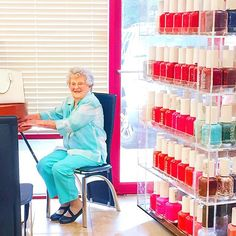 Let's be real, Fridays are for Mani-Pedi Dates with Granny!