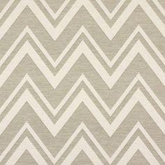 Jacquard Chevron 2 - Polyester - Coton - beige