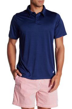 Short Sleeve Swim Tee Polo