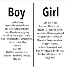 guys vs girl breakup