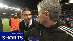 Zlatan Ibrahimovic wystraszył słynnego trenera Chelsea Londyn • Zlatan zaskoczył Jose Mourinho podczas wywiadu • Wejdź i zobacz >> #football #soccer #sports #pilkanozna #funny #mourinho #zlatan #ibrahimovic
