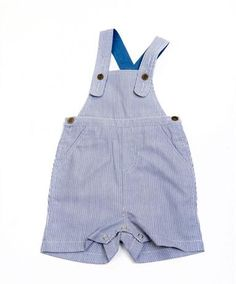 Designer baby boy clothing - Quince - Essential Boys Overall          Price: $38.95   Loving these classic and beautifully cut blue stripe boys overalls by Quince!    These gorgeous overalls are machine washable and feature adjustable straps, press stud crotch and show buttons.  http://www.littlebooteek.com.au/Baby-Boy/83/catlist.aspx Designer baby boy clothing - Quince