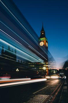 Painting by Mourad Saadi - Photo 202097197 / Urban Life, City Lights, Big Ben, In This Moment, London, Explore, Landscape, Building, Instagram Posts