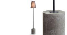 Ira Floor Lamp, Harrier Grey