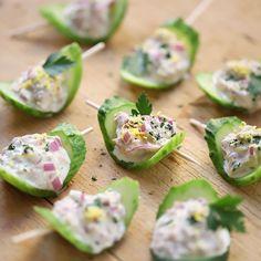 Finger Food Desserts, Finger Foods, Appetizer Recipes, Salad Recipes, Dessert Recipes, Fun Cooking, Cooking Recipes, Healthy Recipes, Food Design