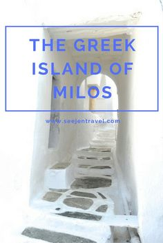 A guide to the Greek Island of Milos, Santorini's pretty little sister. Click through to read the full post!