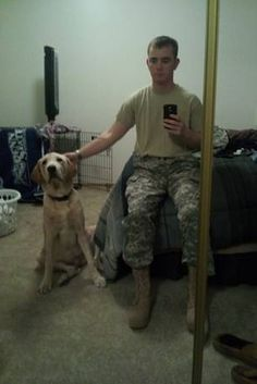 Soldier Returns Home From Afghanistan To Discover His Dog Had Been Sold On Craiglist - BuzzFeed Mobile