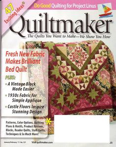 Quiltmaker 137 2011 - Joelma Patch - Picasa Web Album