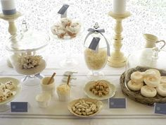 I love dessert bars.....elegant!