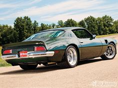 Muscle Car | 1212Phr 32 O Muscle Car Of The Year 73 Pontiac Trans Am
