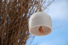 winter bell Light Bulb, Ceramics, Lighting, Winter, Home Decor, Other, Ceramica, Winter Time, Pottery