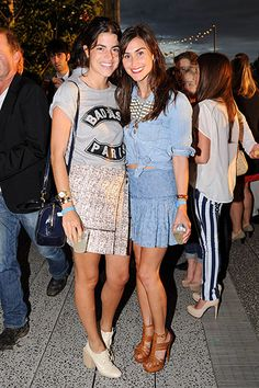 Summer Party on the High Line Presented by Coach: Leandra Medine and Danielle Snyder