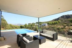 Poolside terraces Freshome 24 30 Poolside Terrace Ideas to Get Your Home Ready for the Summer