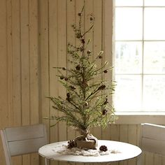 faux fir sapling