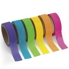 Check out Paper Neon Washi Tape Set - Bargain Individualized Party Supplies from…
