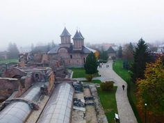 View from Chindia Tower, Targoviste, Romania