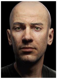 Man portrait 3D character Zbrush sculpt by Blur Studio artist mataerni (Mathieu Aerni) of Santa Monica, California!!! http://mataerni.cghub.com/images/
