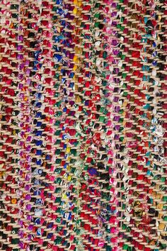 Magical Thinking Anissa Jute Rag Rug - Urban Outfitters