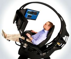 emperor workstation 1510 gaming chair | Emperor 1510 Workstation | DudeIWantThat.com