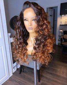 Wig Styles, Curly Hair Styles, Natural Hair Styles, Love Hair, Gorgeous Hair, Beautiful, Weave Hairstyles, Pretty Hairstyles, Natural Hair Weaves