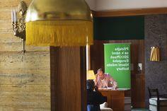 Night of literature in interior by Adolf Loos. #plzen2015