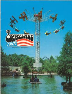 Opryland USA, Nashville, TN Nathan's first amusement park experience in 1988. Sadly it is closed now.