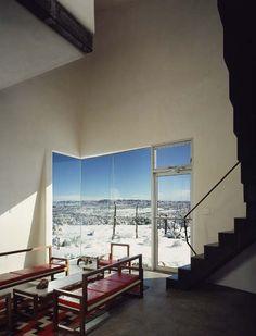 Steven Holl Architects — Turbulence House / New Mexico,USA