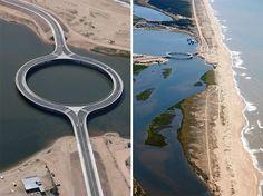 Круглый мост построили в Уругвае / Путешествие с комфортом