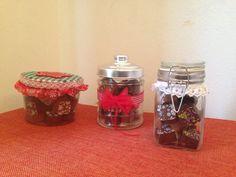 Botes con chocolate para navidad