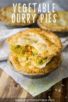 Simple vegetable curry pies with a creamy coconut curry filling wrapped in a crispy, flakey pastry. These individual pies are easy to make and are full of hearty vegetables and a little kick from the curry making them a delicious lunch or dinner. There is nothing that I really enjoy more than things wrapped in...Read On →