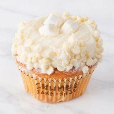 White Hot Chocolate Cupcake