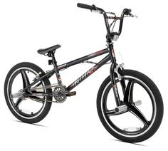 Razor 20 in. Agitator Bike - The Razor 20 in. Agitator Bike is built for tricks! This freestyle, steel-framed bike has everything your older child needs to develop his BMX skills. Bmx Bikes For Sale, Cycling Bikes, Cool Bikes, Road Cycling, Cheap Bmx, Best Bmx, Power Bike, Bmx Freestyle, Bicycle Maintenance