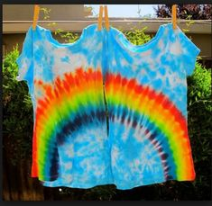 Beginners Guide How to Tie Dye Hearts Rainbows and Spirals PDF Tutorial - Bestie Shirts - Ideas of Bestie Shirts - Rainbow babies tie dye camisetas patrones Tie Dye Tutorial, Tie Dye Instructions, Shirt Tutorial, Diy Tie Dye Shirts, Diy Shirt, Tie Die Shirts, Bff Shirts, Friends Shirts, Diy Tank