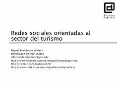 Redes sociales orientadas al sector del turismo