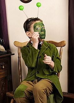 Kids James and The Giant Peach Style Grasshopper Fancy Dress Costume Small (4-6 years)