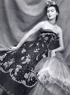 Evening gown by Christian Dior, 1950