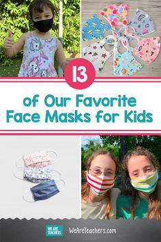 13 of Our Favorite Face Masks for Kids. Finding a face masks for kids that they'll actually wear is easier said than done. But don't worry—we did the work, so you don't have to! #facemasks #deals #teacherdiscount #elementary #kindergarten #healthystudents #teaching #classroom Middle School Ela, Middle School English, Kids Mental Health, Health Education, Kindergarten Teachers, Teaching Kids, Discounts For Teachers, Healthy Kids, Healthy Living