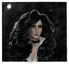 Yennefer of Vengerberg by 1995Paint