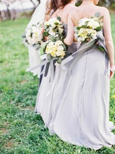 Bridesmaids: http://www.stylemepretty.com/2015/03/25/elegant-maryland-countryside-wedding/ | Photography: Amelia Johnson - http://amelia-johnson.com/