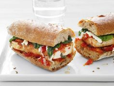 Tofu Parmesan Subs  We found out that tofu is an excellent substitute for chicken or eggplant in the classic Parmesan sub. You can lighten it up a bit with part-skim mozzarella.