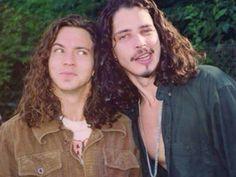 Eddie Vedder & Chris Cornell <3
