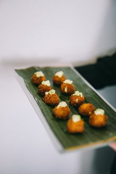 Wedding Appetizers   Mac and Cheese Truffle Balls   Cocktail Hour Ideas Wedding Appetizers, Walker Art, Mac And Cheese, Truffles, Real Weddings, Balls, Wedding Planner, Strawberry, Cocktails