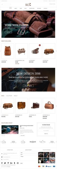 Koi is elegant & modern design #PSD template for multipurpose #bagstore #website with 4 stylish homepage layouts and 34 organized PSD files download now➩ https://themeforest.net/item/koi-fashion-store-and-ecommerce-multipurpose-psd-template/17423477?ref=Datasata